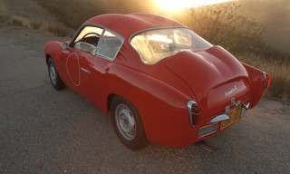 "See the 1957 Fiat Abarth Zagato ""Double Bubble"" GT Corsa on the Road"