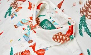 "Gitman Vintage for END Clothing Exclusive ""Festive-Informed"" Shirting"