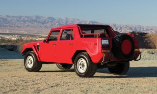 "Lamborghini's Rare First 4-Wheel ""Rambo-Lambo"" Truck to Auction"