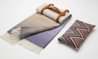 Missoni Create a Travel Blanket & Pillow Set for the Four Seasons Hotels