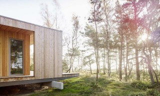 A Summer Cabin on the Swedish Coastline by Johan Sundberg