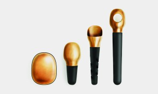 "Bronze-Finish ""Basic"" Wine Tool Set by Simon Legald for Normann Copenhagen"