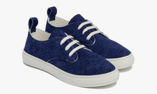 Buddy Japan's Exclusive Hairy Suede Sneakers for Dover Street Market