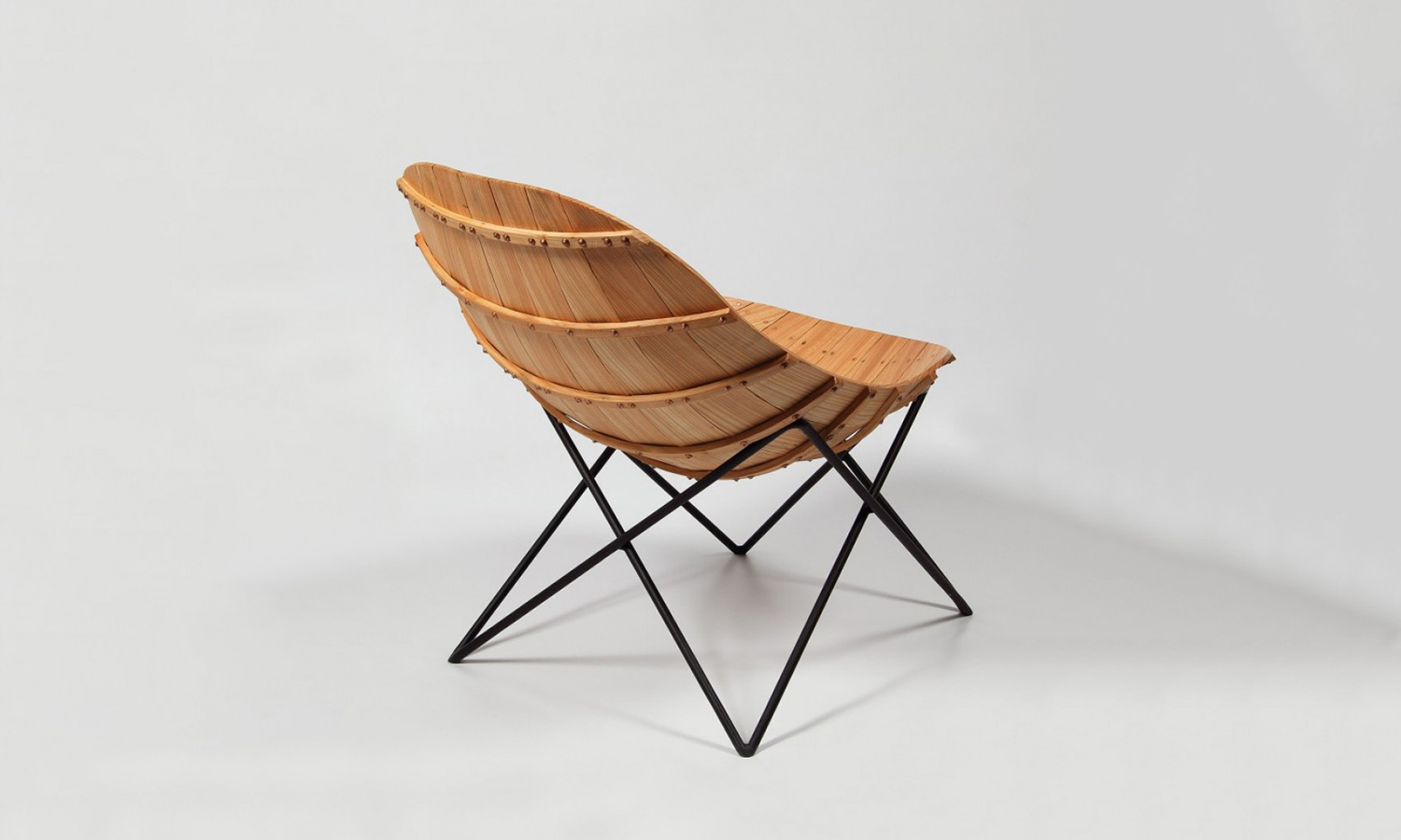 The Carvel Chair Inspired by Boat Building