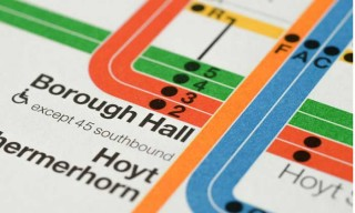 Signed Massimo Vignelli's 2012 NYC Subway Map Prints on Sale