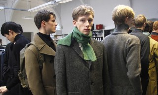Backstage & Up-Close at Margaret Howell Fall/Winter 2015