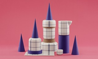 "The Dish Cloth-Inspired ""Mormor"" Ceramics Series by Gry Fager"