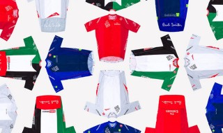 Paul Smith Designs Jerseys for the 2015 Dubai Tour Cycling Race