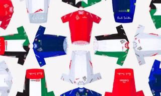 Paul Smith Designs Jerseys for the 2015 Dubai Tour Cycling Race