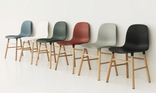 See Simon Legald's Modular Shell Chairs for Normann Copenhagen