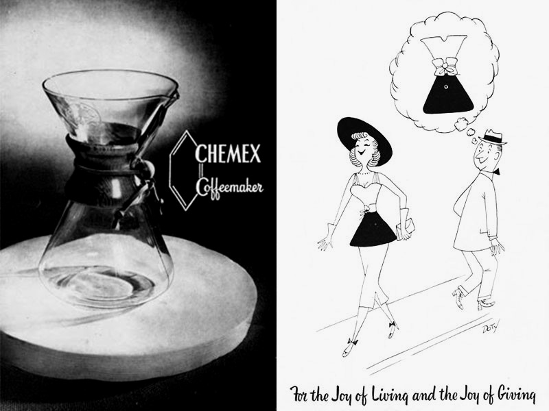The History of the Chemex Coffee Maker Selectism