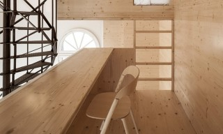 """See the """"Room on the Roof"""" Artist's Residence in Amsterdam Department Store Tower"""