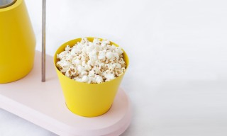 A Sophisticated Popcorn Machine by Jolene Carlier