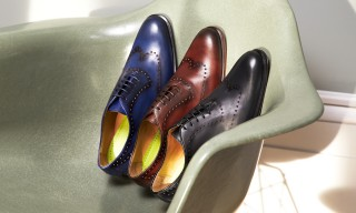 Eames-Inspired Shoes from Oliver Sweeney Spring/Summer 2015