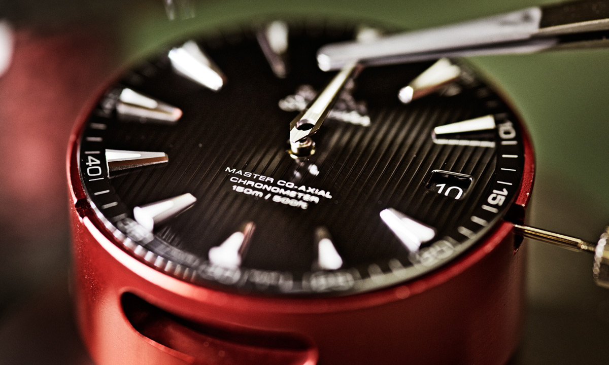 Omega Master Co-Axial Mechanical Watch Making