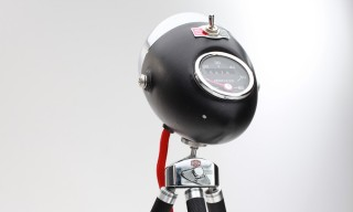 Recycled Vintage Car Headlight Lamps, Handmade in Berlin