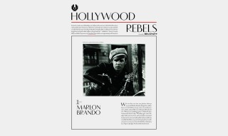 "Go Inside the Belstaff ""Hollywood Rebels"" Journal & Collection"