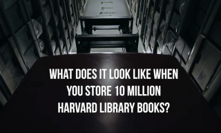 "Inside Harvard University's ""Cold Storage"" Archive Depository"