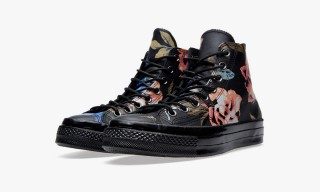 Converse First String Returns with Chuck Taylor Floral Collection