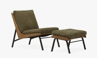 Stephen Kenn Recreates Truck Studio's Boomerang Chair and Ottoman