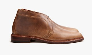 Pre-Order Alden's Natural Chromexcel Indy Boot and Chukka for Leffot