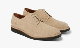 Exclusive Common Projects Crepe-Sole Derby for MR PORTER