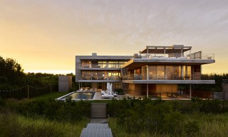 "The Bridgehampton ""Ocean Deck House"" with All-Round Views"