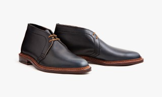 Alden & Leffot Chukka Boot – Now Available in Navy Chromexcel