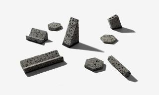 "Unique & Raw ""Basalt"" Desk Objects by Korea's Jeonghwa Seo"