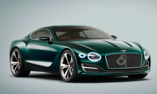 Bentley Introduces the EXP 10 Speed 6 Sports Car in Geneva