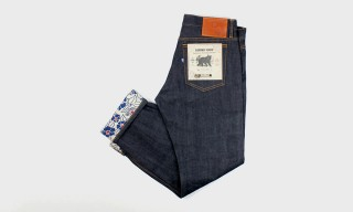 Kiriko Add Traditional Japanese Fabric to their Selvedge Denim
