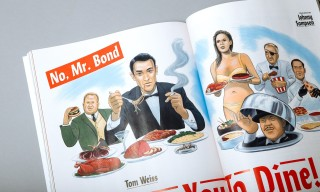 "Lucky Peach Documents Every James Bond Meal in its ""Obsession"" Issue"