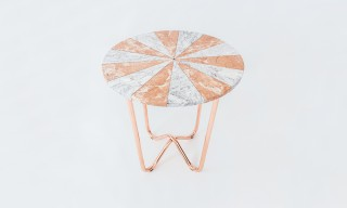 "See the Marble ""Jasmine Pizza"" Table by Merve Kahraman"