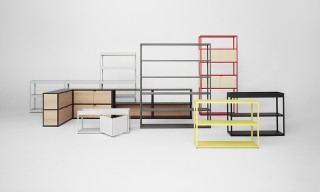 "The Space-Saving ""New Order"" Shelving System by HAY & Stefan Diez"