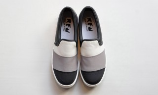 "RFW Tokyo Offers Oshman's Exclusive Colorways of the ""Roll"" Slip-On"