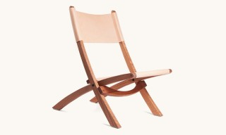 Tanner Goods Introduce the Nokori Chair in Natural Leather