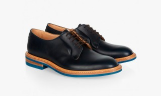 A Touch of Color from Tricker's for Hardy Amies Footwear