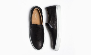 wings+horns Deliver 2 Monochrome Calfskin Slip-Ons