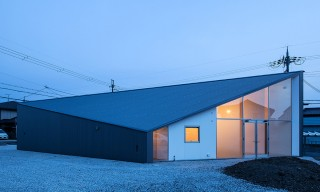 The Compact & Versatile Skyhole House in Shiga, Japan