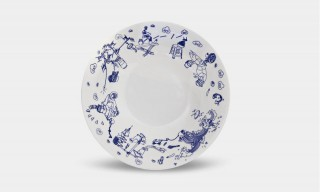 "The Modern & Quirky ""Night Market"" Porcelain Dinnerware Collection"