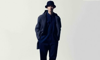 An All-Navy PINE by Masataka Matsumura for Fall/Winter 2015