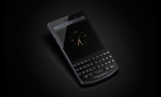 Porsche Design Releases the Blackberry P'9983 in Graphite Stainless Steel