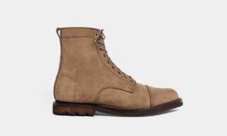 The Suede Knox Boot by Rancourt & Taylor Stitch