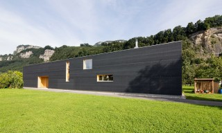 """The Unique & Minimal Rectangular """"37M"""" Home in Austria"""