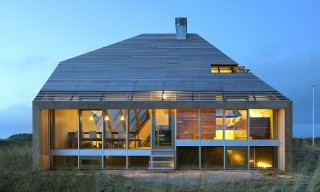 The Contemporary Dutch Island Home Inspired by a Dune Landscape