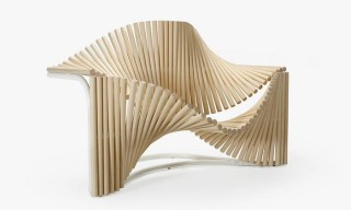 A Sinuous Wooden Chair Takes Inspiration From Novelist Paulo Coelho