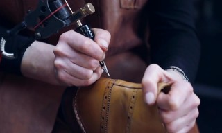 Oliver Sweeney Offers a Bespoke Shoe Tattoo Service