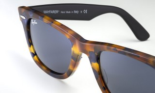 "Ray-Ban Update the Wayfarer with the ""Fleck"" Collection"