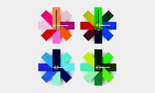 """The Colorful Retro """"Watch Me"""" Clock Collection from Rasmus Gottliebsen"""