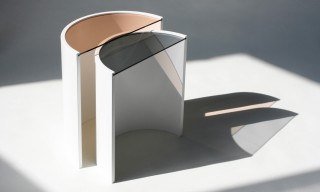 "The Nesting ""Contour"" Side Tables by Bower NYC"